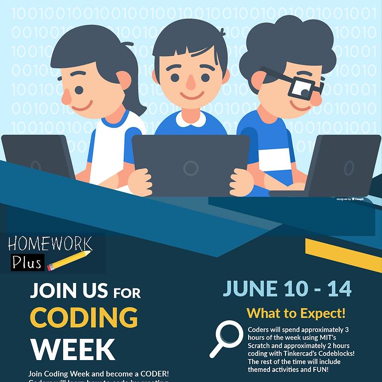 STEAM Tech Camp - Coding Week