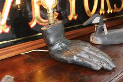 Metal Hand Lamp