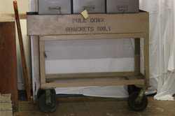 Large industrial trolley