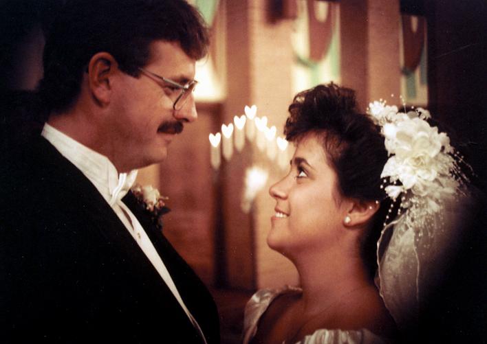Wedding Candle Heart copy