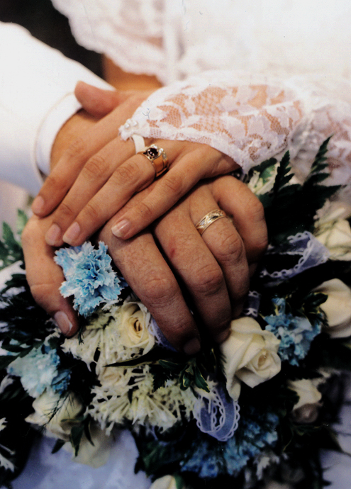 Bride and Groom Hands and Rings copy