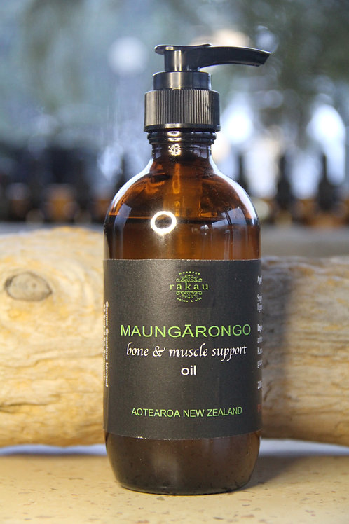 Maungārongo - bone and muscle support oil