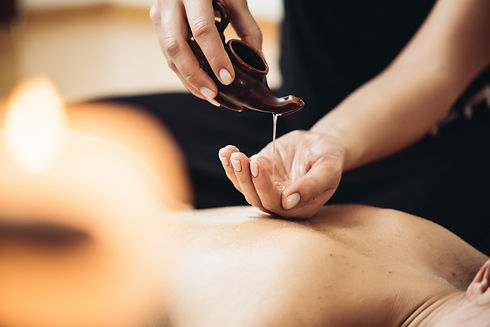 Aromatherapy massage is massage therapy using massage oil or lotion that contains essentia