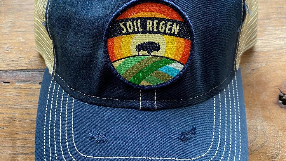 Blue Soil Regen Trucker Hat