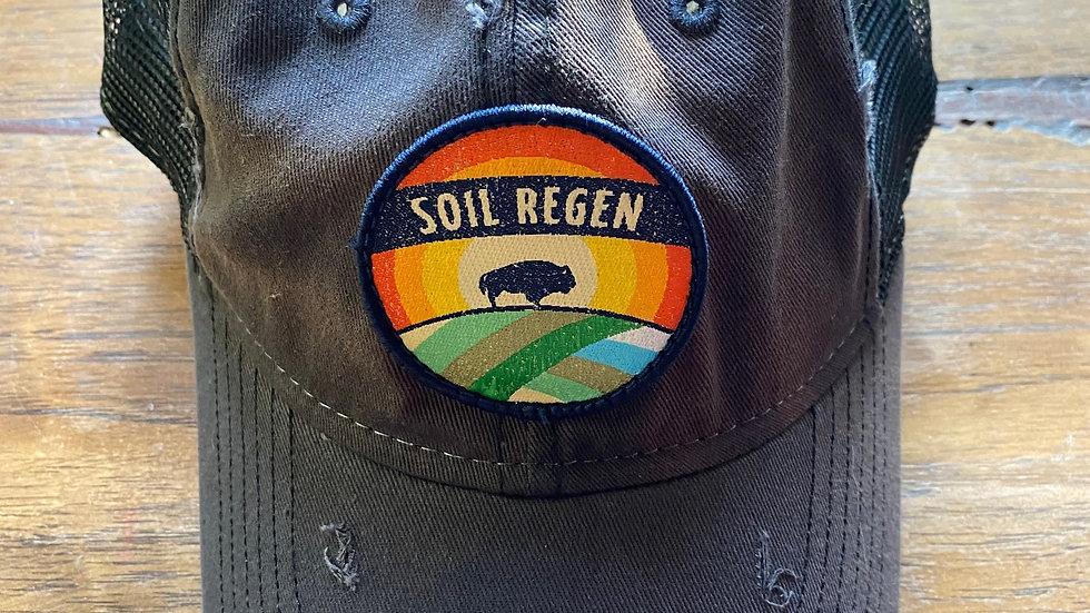 Black Soil Regen Trucker Hat