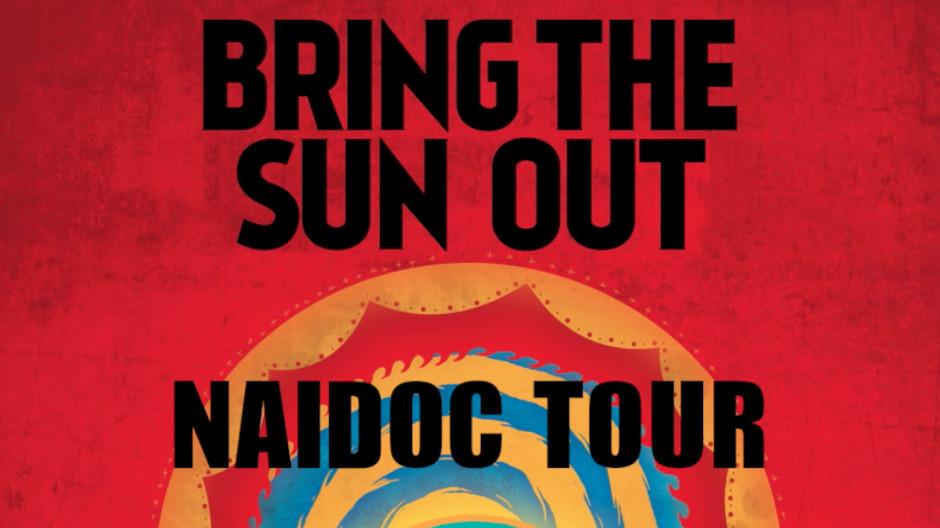 'Bring the Sun out' NAIDOC tour