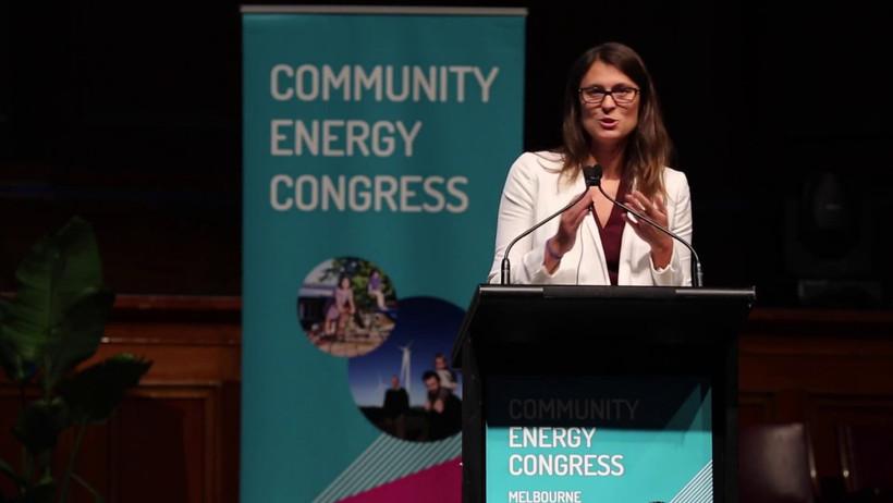 Community Energy Congress - Candace Vashling, Energy advisor to Obama