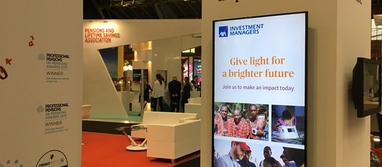How to use Digital Signage to Enhance Your Exhibition Stand
