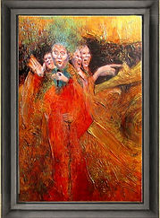 painting art work of JACKIE RICHARDSON