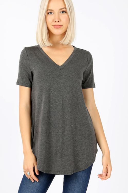 Flowy V-neck Tshirt