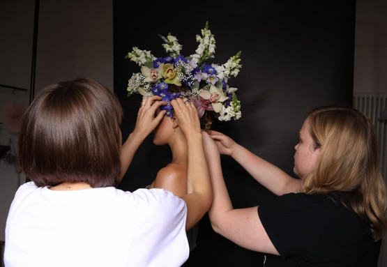 Flower Styling Backstage