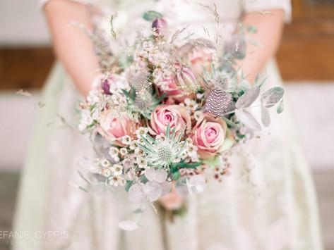 Heiraten, immer ein Grund für viele Blumen!