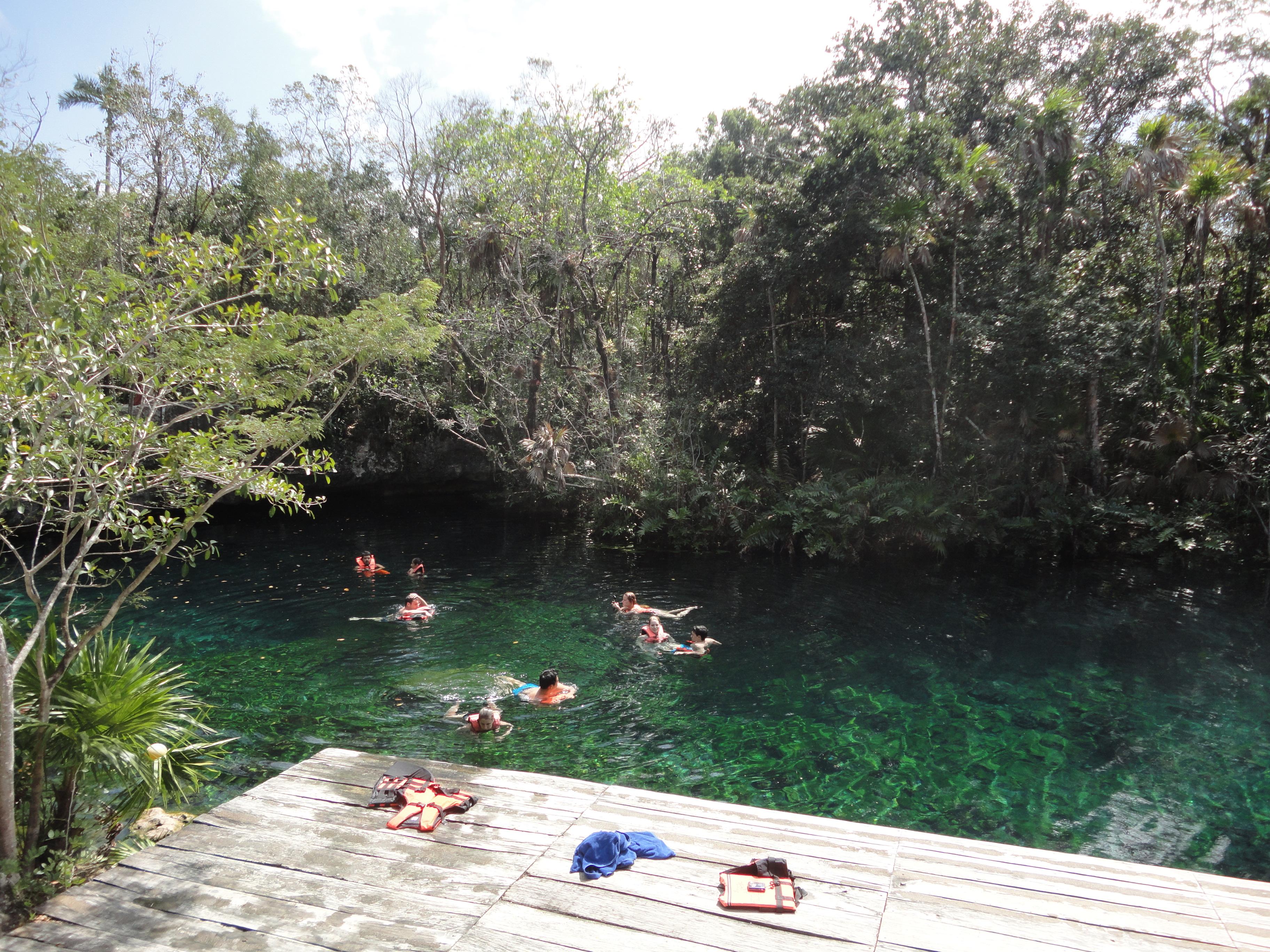 Cenote in Tankah