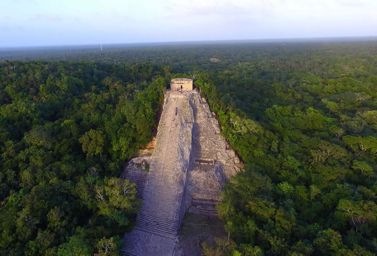 Coba Pyramid, Riviera Maya