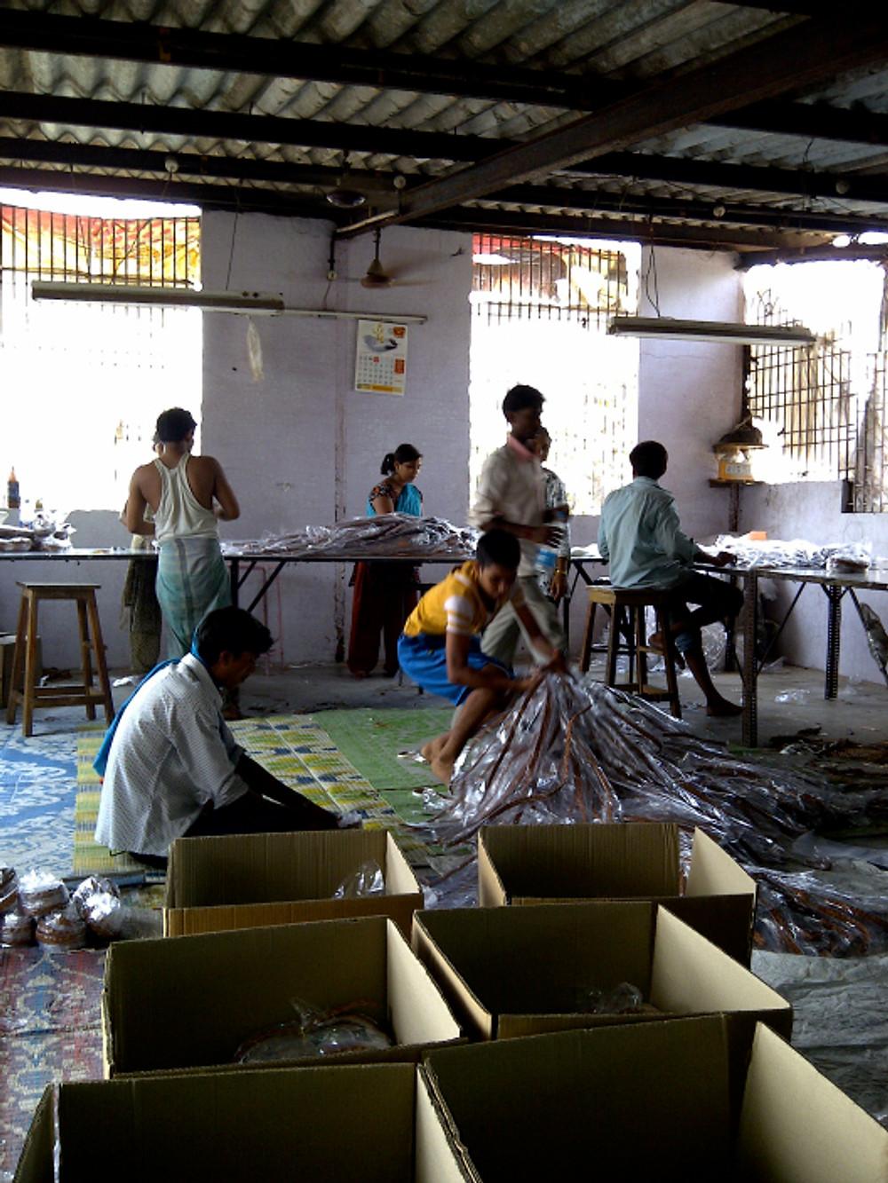 Inside the slum factory