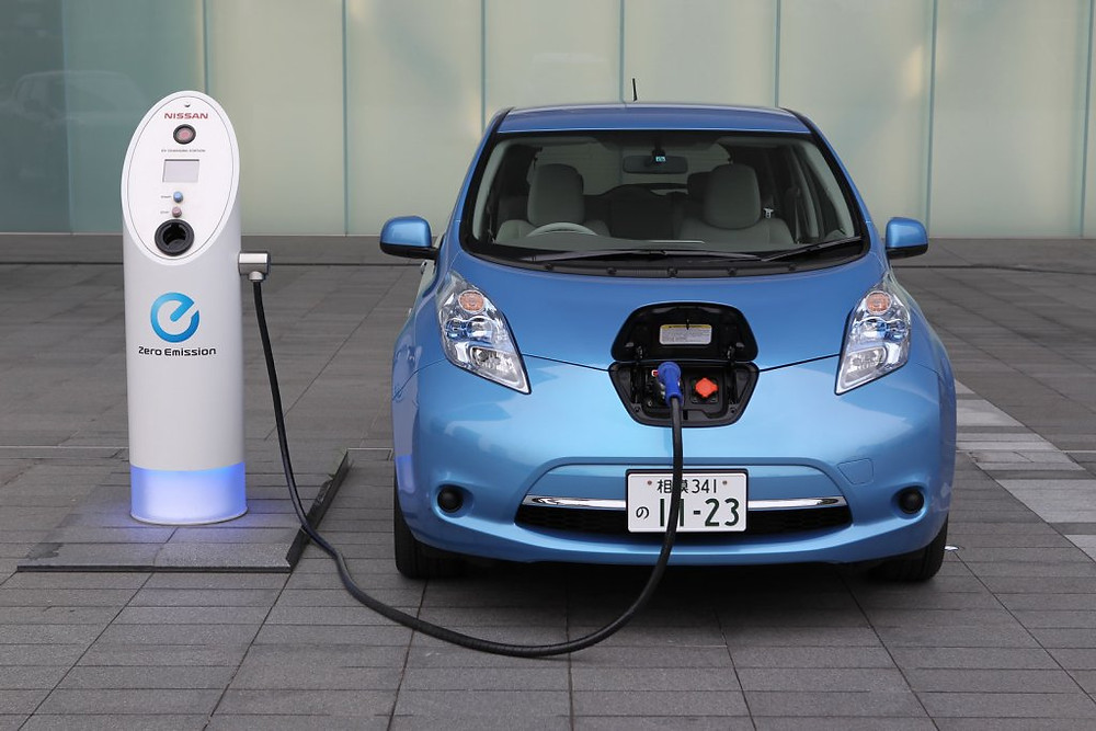 The Nissan Leaf - the world's most successful electric car but a microscopic fraction of Nissan's business