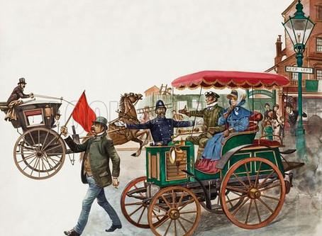 Uber, the horseless carriage and the revolution