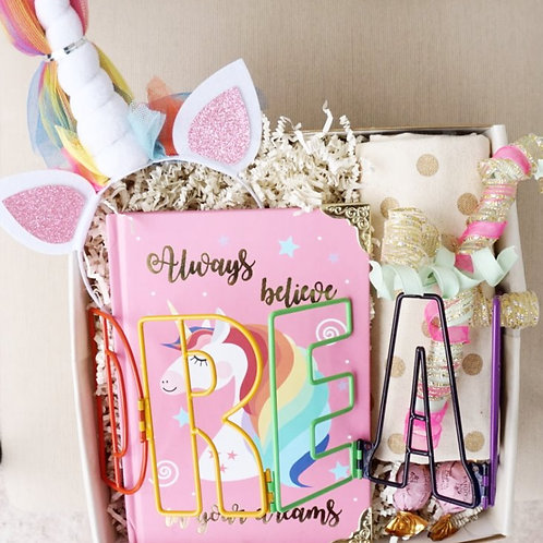 TWEEN UNICORN DREAMS JOURNAL & HEADBAND GIFT BOX