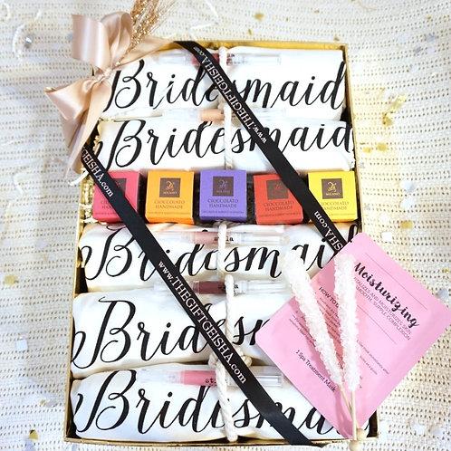 THANK YOU BRIDESMAIDS GIFT BOX