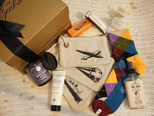 THE CLASSIC MAN GIFT BOX