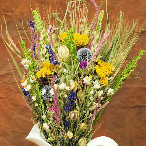 SCENTED DRY FLORAL BOUQUET (pick-up only)
