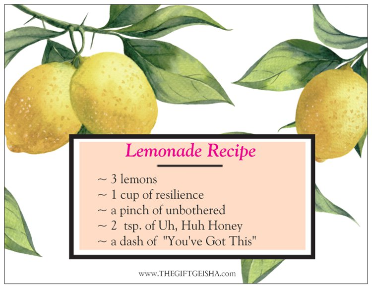 LEMONADE CARD