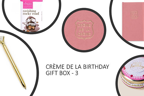 Creme De La Birthday Gift Box