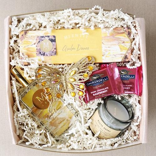 AMBER PARFUME & CANDLE GIFT BOX