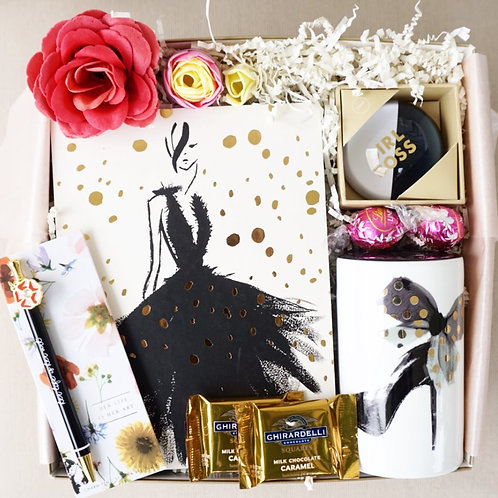 GLAM GOALS COIN BANK & PEN GIFT BOX