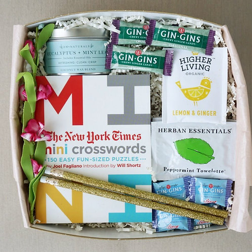 CROSSWORD PUZZLE & CANDLE CARE PACKAGE