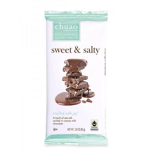 SWEET & SALTY CHOCOLATE BAR