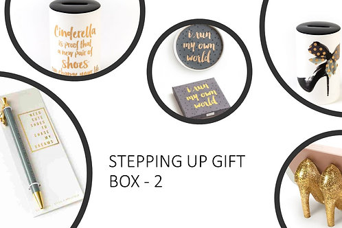 Stepping Up Gift Box