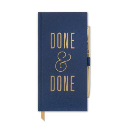DONE & DONE JOURNAL W/ PEN