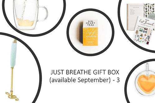 Just Breathe Gift Box