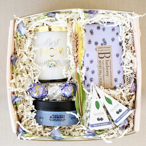 BLUEBERRY SPA DAY GIFT BOX