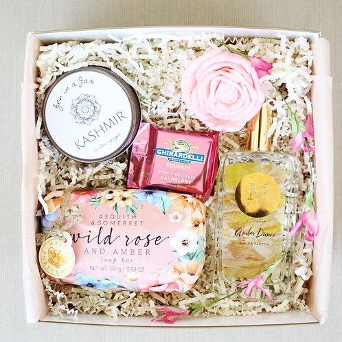AMBER & WILD ROSE SPA DAY GIFT BOX