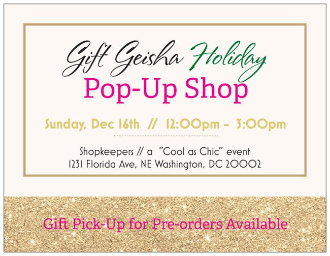 """""""Cool as Chic"""" Event GIFT POP-UP"""