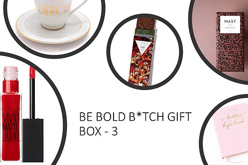 Be Bold B*tch Gift Box