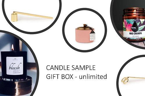 Candle Sample Gift Box