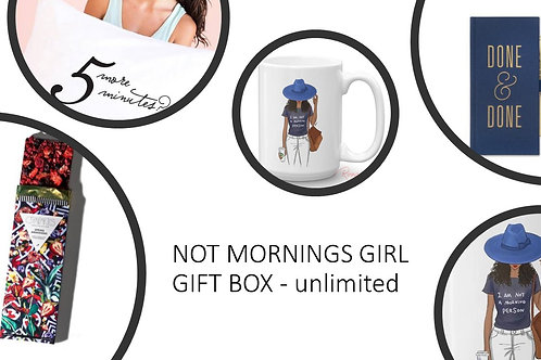 Not A Mornings Girl Gift Box