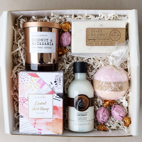 COCONUT & MANGO SPA DAY GIFT BOX