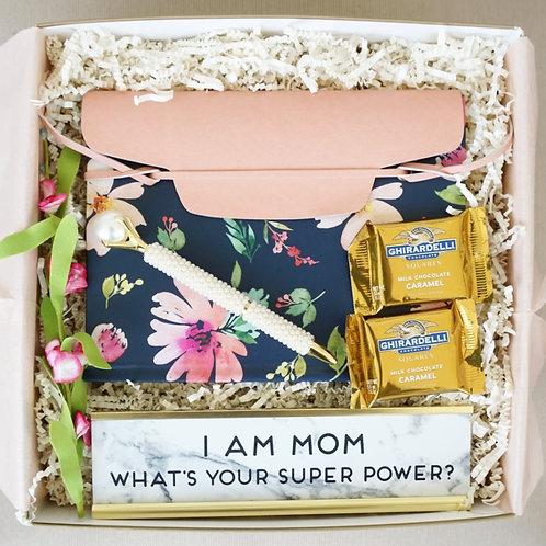 SUPER MOM JOURNAL & PEN DESK KIT GIFT BOX