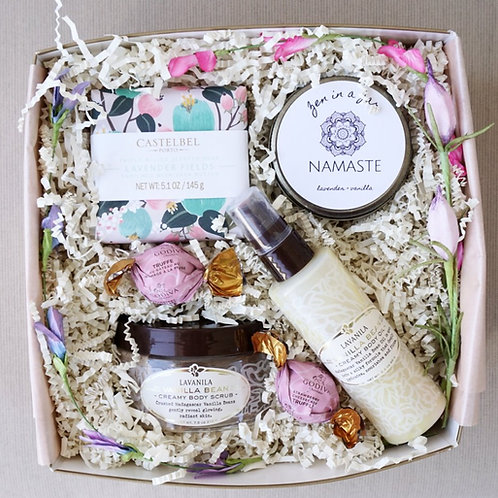 LAVENDER VANILLA SPA DAY GIFT BOX