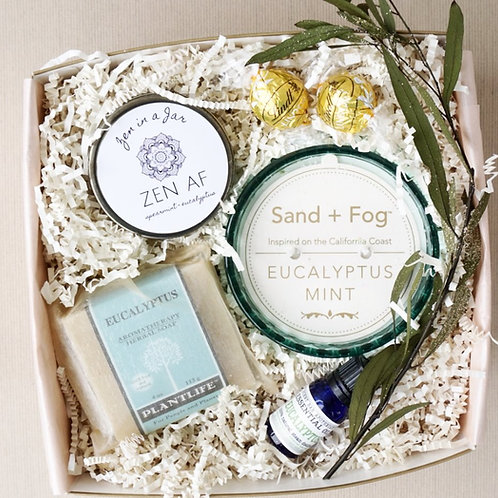 SOOTHING EUCALYPTUS SPA DAY GIFT BOX
