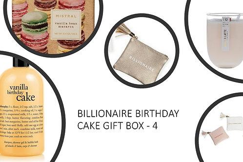 Billionaire Birthday Cake Gift Box