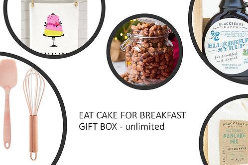 Eat Cake For Breakfast  Gift Box