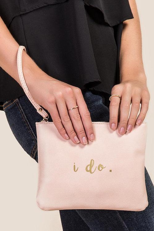 """""""i do"""" BRIDAL WRISTLET"""