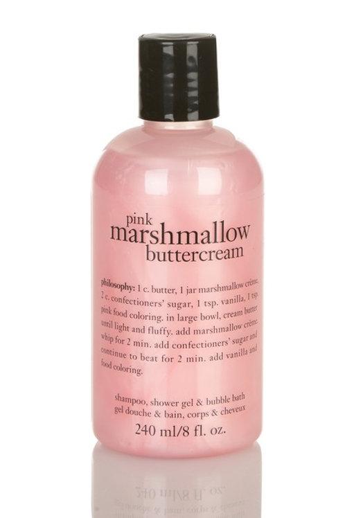 PINK MARSHMALLOW BUTTERCREAM BODY WASH