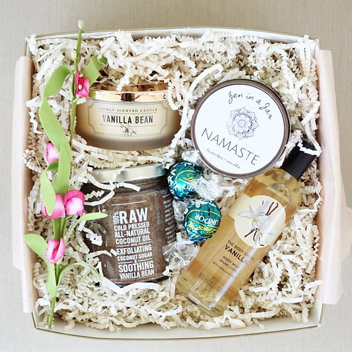 VANILLA BEAN SPA DAY GIFT BOX