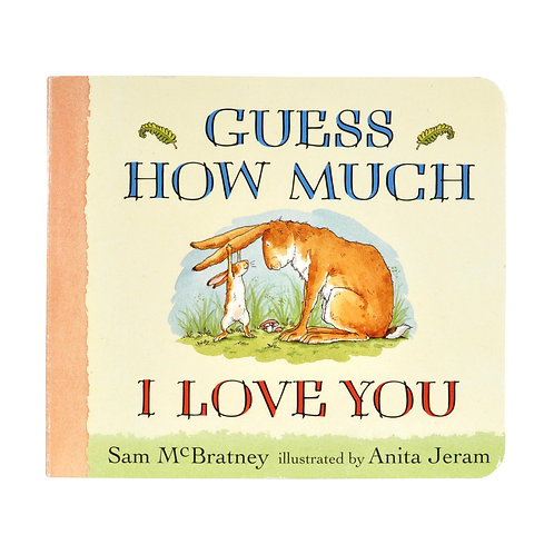 """""""Guess How Much I Love You"""" BOOK"""